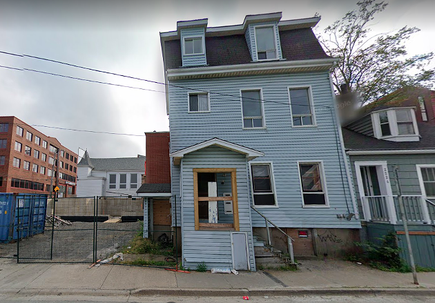 The North End Community Association is planning to buy 2218 Maitland Street. - GOOGLE MAPS SCREENSHOT