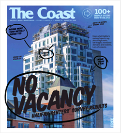 Click here to read the full results of The Coast's 2019 Halifax Renters' Survey.