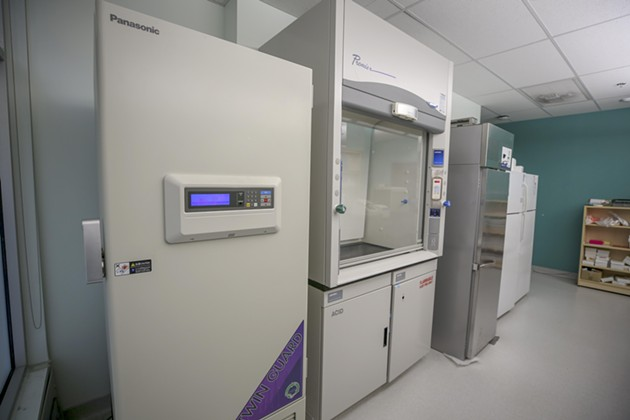 """The """"ultra-low-temperature"""" freezer that will store vaccines. - COMMUNICATIONS NOVA SCOTIA"""
