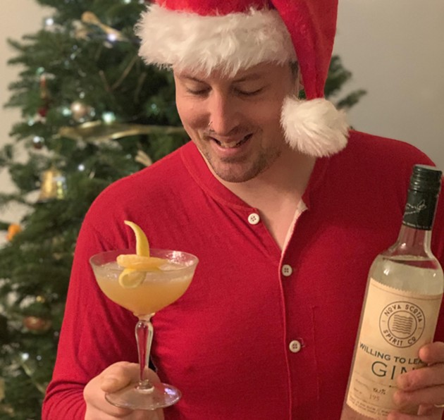 Shane Beehan's first recipe involved gin and clementines. Next week will be vodka and cranberries. - NOVA SCOTIA SPIRIT CO.