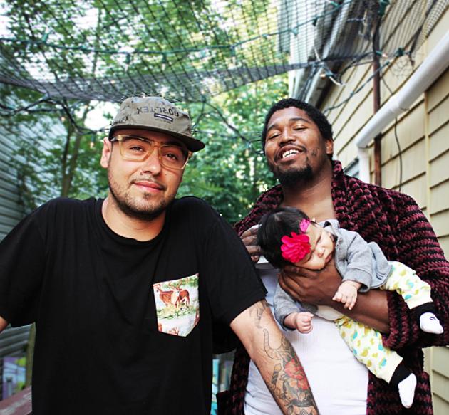 Aquasocks—the moniker for DJ Ghettosocks and Aquakultre's Lance Sampson—hit the virtual stage for Evergreen Festival this weekend. - BANDCAMP.COM SCREENSHOT