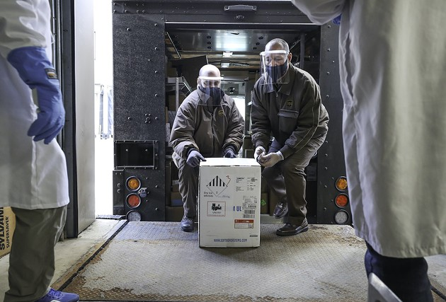 The vaccine's arrival in Nova Scotia brings difficult handling conditions—e.g. it's got to be stored in an extra-cold freezer at minus 70 degrees Celsius—that mean the first vaccinations will be done in Halifax. - COMMUNICATIONS NOVA SCOTIA