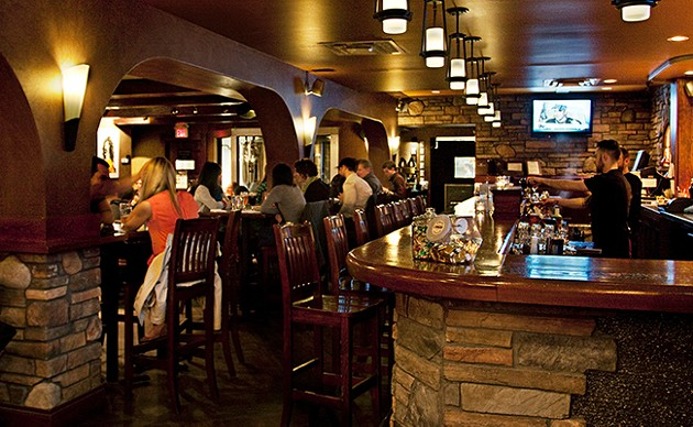 Rockbottom Brewery was one of few remaining weekly trivia spots. - LENNY MULLINS