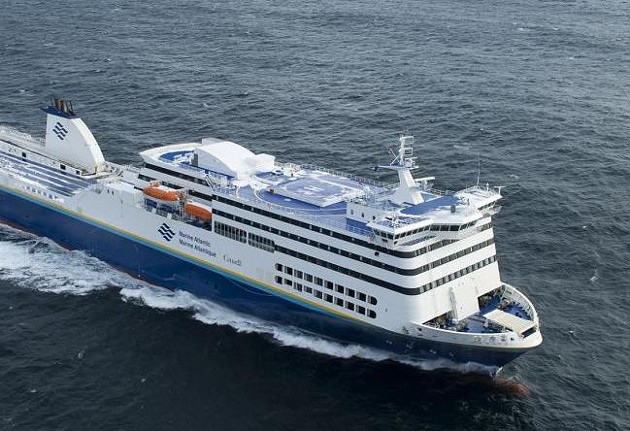 After a staffer's COVID-19 diagnosis, Blue Puttees is out of service until everyone who works on the ferry gets tested. - MARINEATLANTIC.CA