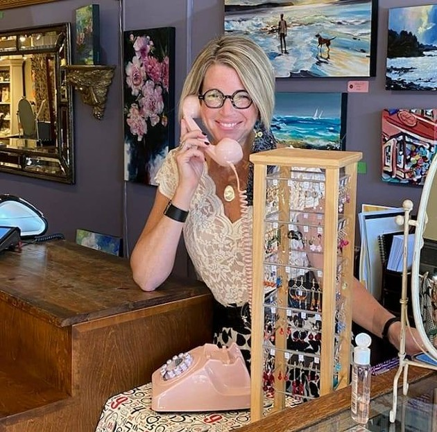 Cathy Hope is the owner and operator of Lady Luck Boutique in the Hydrostone. - CHERYL BELL