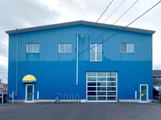 The bright blue home of contemporary art on Maynard Street. - RYAN JOSEY