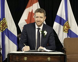 In the morning, Iain Rankin is sworn in as Nova Scotia's new premier. In the afternoon, the province announces three new COVID-19 cases, the discovery of three B117 variant infections and a recent high of 20 cases. - COMMUNICATIONS NOVA SCOTIA