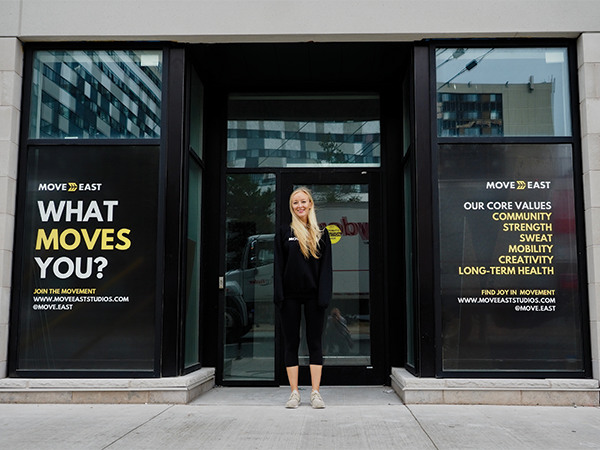 """Move East owner Hannah Kovacs says """"the time has been put in""""—by premier Iain Rankin's office—""""to hear us."""" - SUBMITTED"""