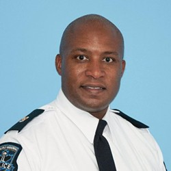 Simmonds has been an officer for 20 years, four of them spent as the HRP's Diversity Equity Officer. TWITTER