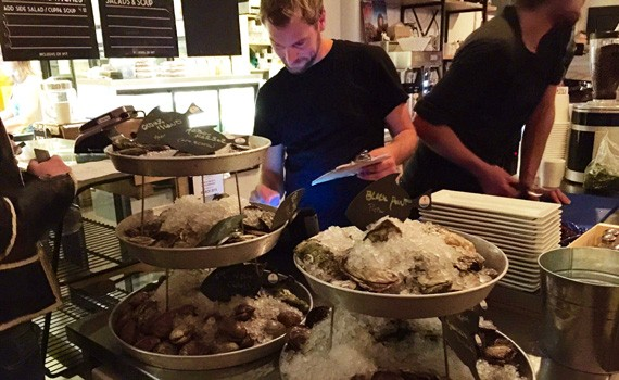 Oyster Nights are popping at Lion and Bright Cafe