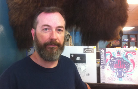 Aaron Hartling is a busy lad. Store manager of Black Buffalo Records, you can find him on social media (his personal side is @Huskermould; his musical side is @heartbreakstrgr). - THE COAST