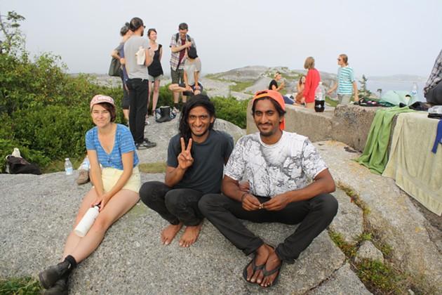 The sun came out, Nick Dourado says peace - ADRIA YOUNG