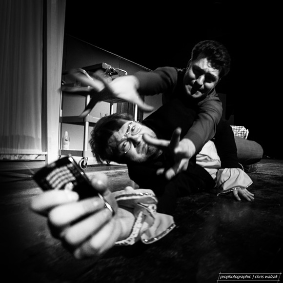 Cell phones off,  says Theatre Brouhaha's Punch Up