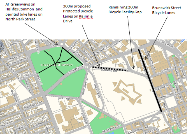 The proposed plan. - VIA HRM