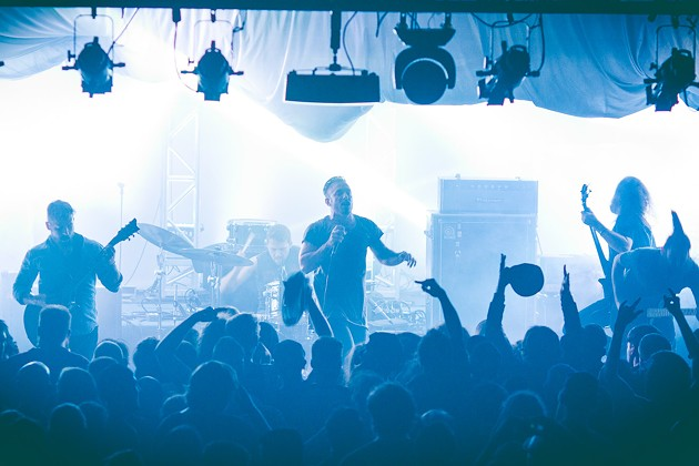 The Dillinger Escape Plan at Olympic Hall - LENNY MULLINS