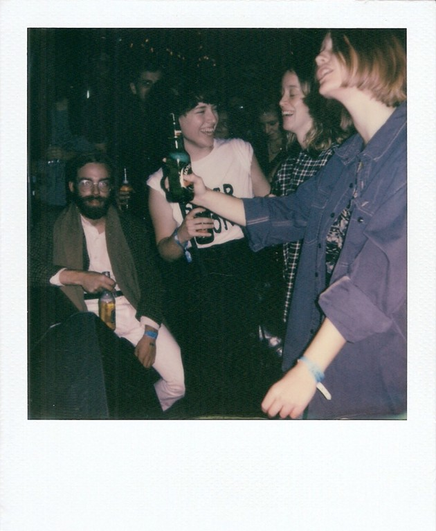 Sam Hill, Kat Shubaly, Alison Higgins, Danika Vandersteen at Monomyth - KATE GIFFIN