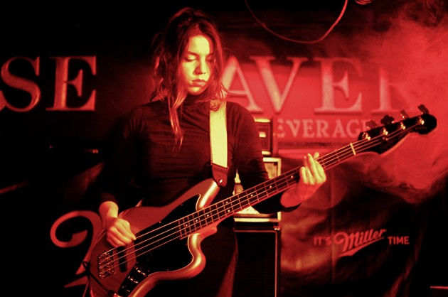 Crosss (Scarlett Rose) at The Seahorse Tavern - KATE GIFFIN