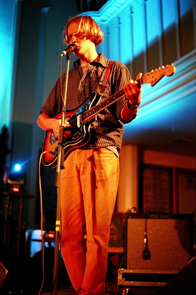 Nap Eyes (Nigel Chapman) at St. Matthew's Church - KATE GIFFIN