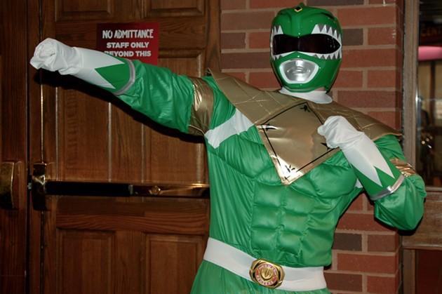 Go Green Power Ranger! - ADRIA YOUNG