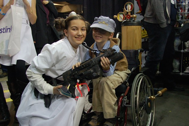 Princess Leia & Steam Punk kid - ADRIA YOUNG