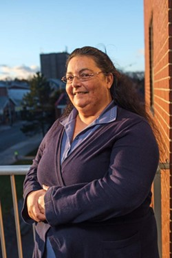 """""""It takes a toll on someone, especially someone with low or moderate income because it's tough to get started back up again."""" —Bonnie Barrett, - chair of Nova Scotia ACORN. - SAM KEAN"""
