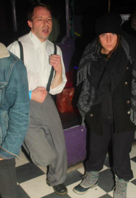 """David Byrne"" and me, 2012 - ADRIAN BRUHM"