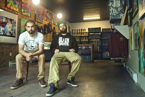 Black Book Collective opened on Kaye Street, but is now on Cunard - PHOTO BY LENNY MULLINS