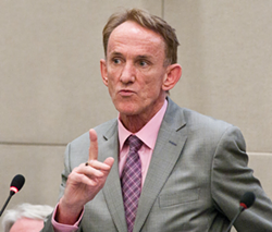 Reg Rankin says he hasn't made up his mind yet if he'll run again this fall. - THE COAST