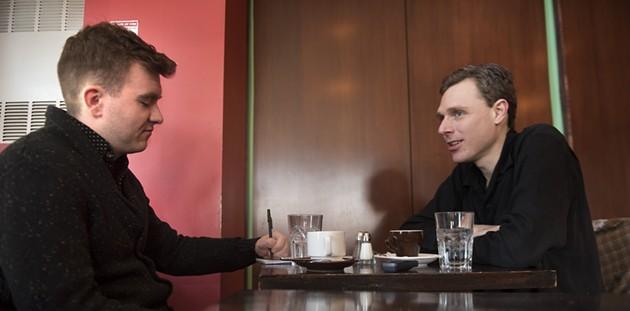 Josh O'Kane interviewing the king of New Scotland - FRED LUM
