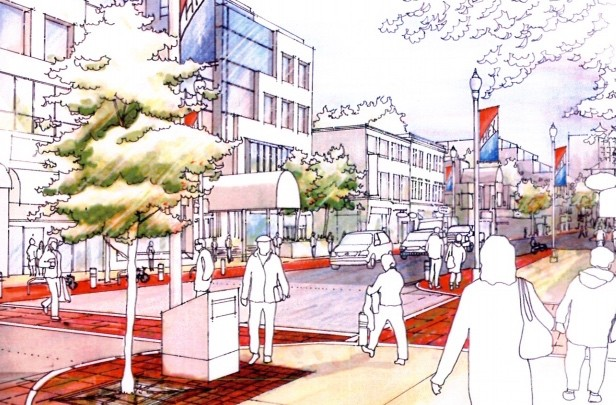 Design possibilities from the last time the municipality tried to upgrade Spring Garden Road's streetscape in 2009. - VIA HRM