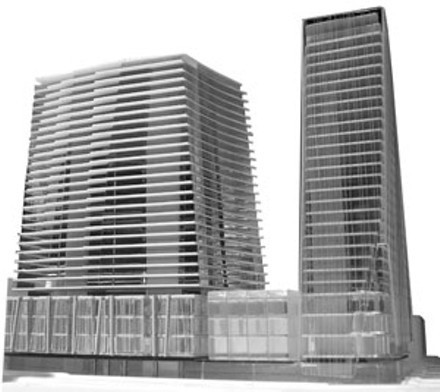 Twisted Sisters might be coming back from the grave. A new two-towered plan will be presented to the city soon, says United Gulf. - VIA HRM