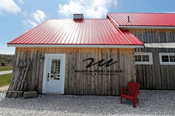 Meander River Farm & Brewery's homebase - MELISSA BUOTE