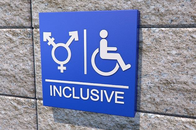The new guidelines require the province to, whenever possible, provide easily-accessible, gender-neutral washrooms for public sector workers. - VIA ISTOCK
