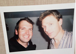 Jimmie & Joel at New Scotland Yard - JIM KILPATRICK