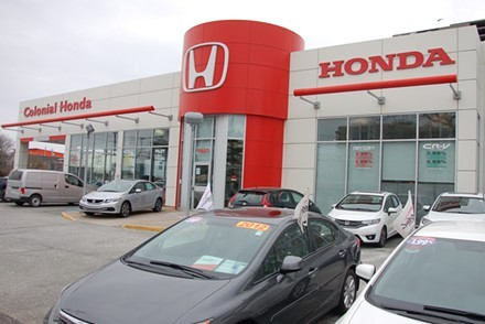 The colonizing Honda dealership in question. - THE COAST