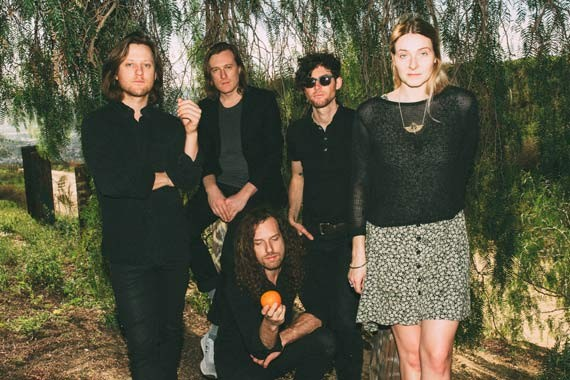 The band's current sound evokes a mish-mash of lost John Hughes soundtrack songs. - OLIVIA JAFFE