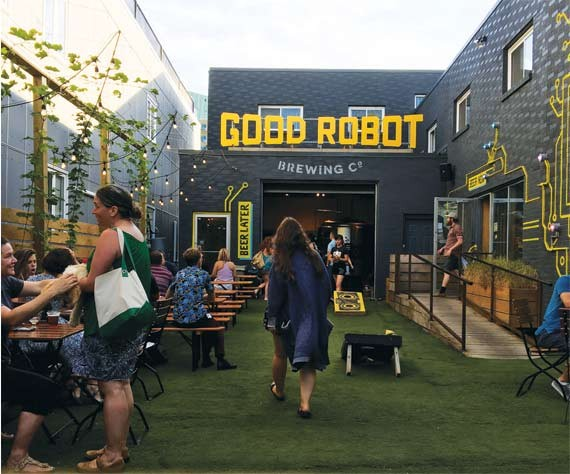 Bring your appetites (and your puppies) to Robie Street's gastroturf.