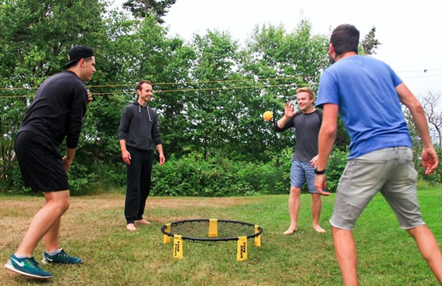 Spikeball, anyone? - SEAN MCMULLEN