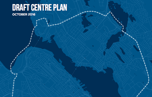 Today is where the draft Centre Plan begins. The rest is still unwritten. - VIA HRM