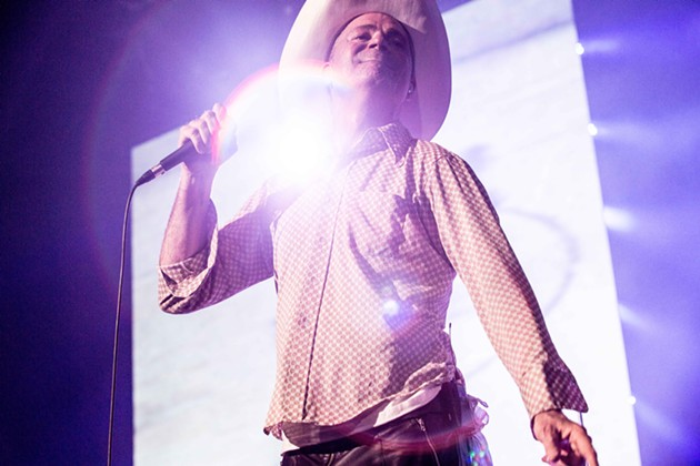Gord Downie onstage in Toronto during a 2015 performance. - DAVID BASTEDO