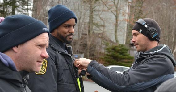 Ronnie Rowe stars in Black Cop. - REBECCA DINGWELL