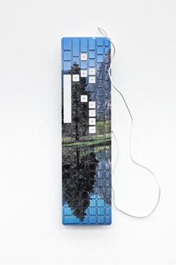 Artist James Hoff creates a virtual walk in the park at Anna Leonowens Gallery (see 1). - JAMES HOFF