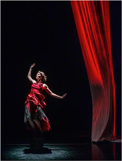 Lisa Phinny Langeley shares the stage with Jacinte Armstrong for a high-energy dance show (see 3). - SCOTT MUNN