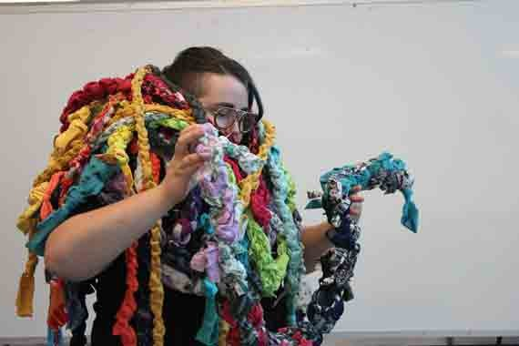 Get tangled up in Brideau's work. - THEO J PARKER HOUGHTALING