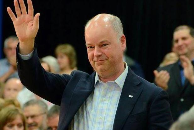 Jamie Baillie, leader of Nova Scotia's Progressive Conservative party. - VIA FACEBOOK