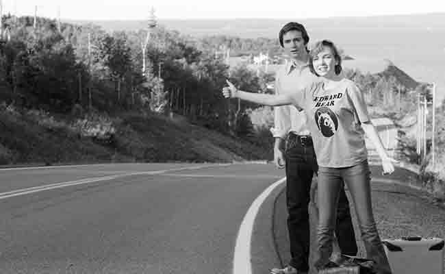 Dylan Authors and Julia Sarah Stone hit the Nova Scotia road.