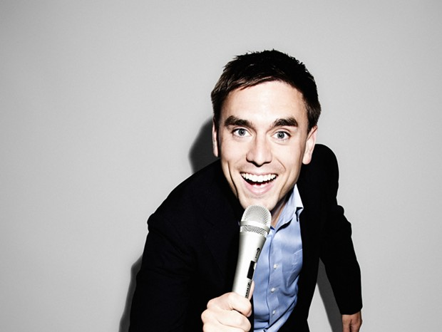 James Mullinger hosts Comedy Bootcamp
