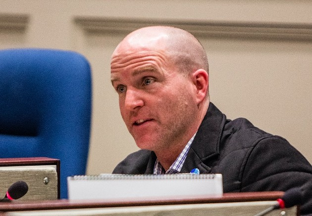 Hammonds Plains–St. Margarets councillor Matt Whitman has learned from all this. - RILEY SMITH