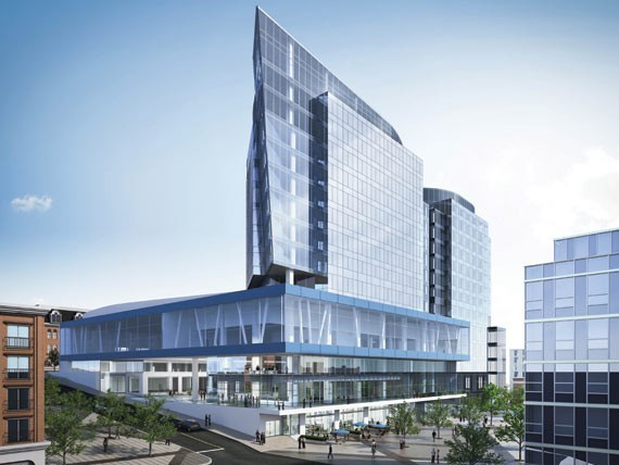 The Nova Centre in downtown Halifax is the same kind of bold mistake the province has been making for years. - VIA HRM