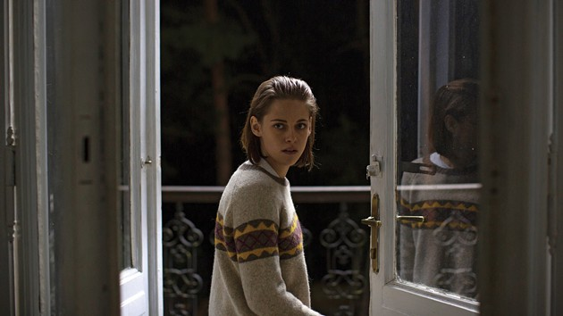 Stewart plays Maureen, the (you guessed it) personal shopper, who is trying to connect with her late twin brother in the afterworld. - VIA IMDB